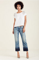 True Religion Relaxed Straight Womens Jean