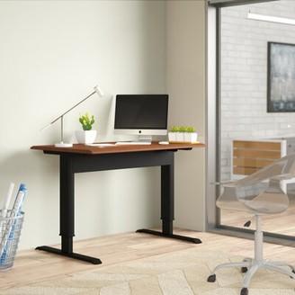 "Westendorf Height Adjustable Standing Desk Symple Stuff Size: 44.5"" H x 56"" W x 29.5"" D"