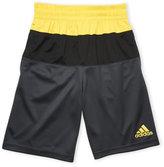 adidas Boys 8-20) Color Block Perforated Basketball Shorts