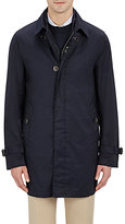 Fay Men's Walking Coat/Vest Combo-NAVY