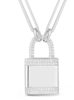 Sphera Milano Plated Long Link Chain Necklace