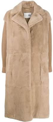 Manzoni 24 straight fit coat