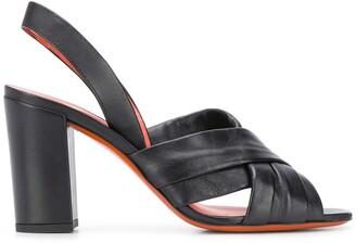 Santoni Block Heel Sandals