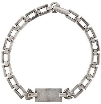 Saint Laurent Tag Link Bracelet