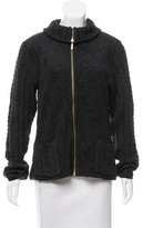 Barbour Wool Cable Knit Jacket