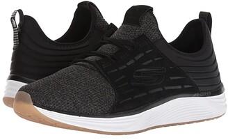 Skechers Skyline (Black) Men's Lace up casual Shoes