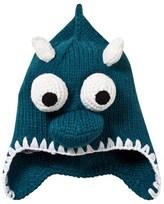 Animal Teal Monster Knitted Beanie