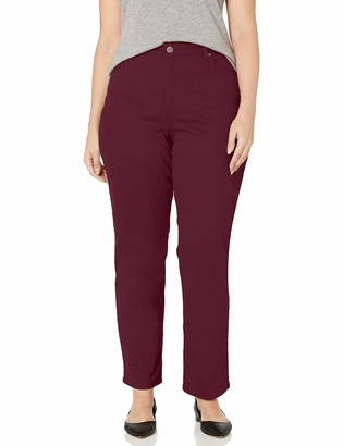 Bandolino Women's Mandie Signature Fit High Rise Straight Leg Jean