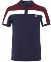Fred Perry Men's Colour Block Polo Shirt M