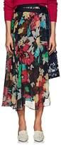 Sacai Women's Floral Gathered Wrap Midi-Skirt