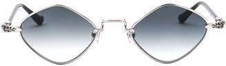 Chrome Hearts Diamond Frame Sunglasses