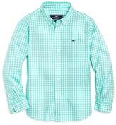 Vineyard Vines Boys' Island Gingham Button Down Shirt - Sizes 2-7