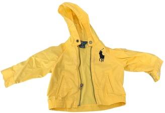 Polo Ralph Lauren Yellow Polyester Jackets & Coats