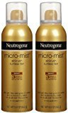Neutrogena Micro-Mist Tanning Sunless Spray-5.3 oz, 2 pack