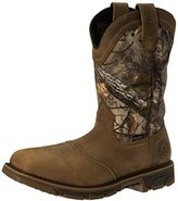 "Irish Setter Work Men's Marshall 11"" Pull-on Square Toe Boot"