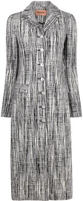 Missoni Single Breasted Tweed Coat