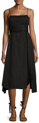Elizabeth And James Oak Tie Maxi Dress