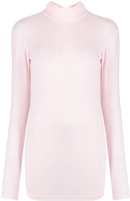 Styland Roll Neck Jersey Top