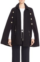 See by Chloe Women's Wool Blend Military Cape