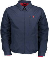 U.S. Polo Assn. Classic Navy Zip-Up Golf Jacket