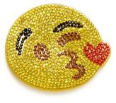 Bari Lynn Girl's Crystal Winky Emoji Clip