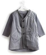 Lost And Found Kids panelled v-neck jacket