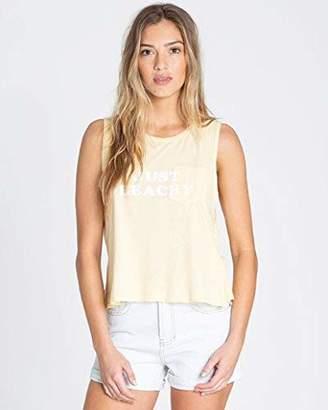 Billabong Women's Just Beachy Muscle T-Shirt