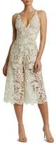 Dress the Population Women's Marion Lace Romper