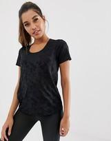 Asos 4505 4505 t-shirt in sheer camo