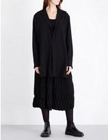 Yohji Yamamoto Split-back wool shirt