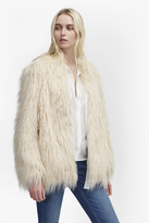 French Connection Marissa Faux Fur Coat
