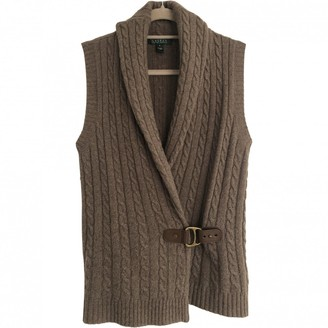 Lauren Ralph Lauren Beige Wool Knitwear for Women