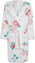 John Lewis Children's Vintage Floral Dressing Gown, Gardenia