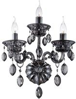 Eurofase Venetian Collection 3-Light Smoke Wall Sconce