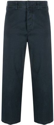 DEPARTMENT 5 Cropped Wide-Leg Trousers