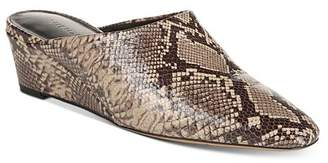 Vince Women's Baxley Wedge Heel Mules