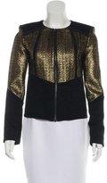 Alexis Metallic Woven Jacket w/ Tags