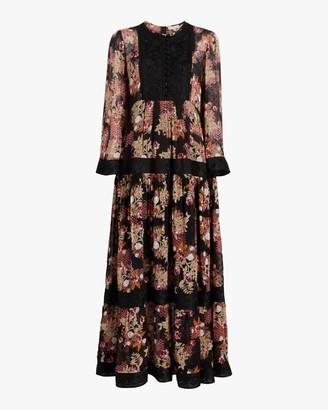 By Ti Mo Ribbon Semi Midi Dress