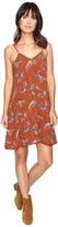 Brigitte Bailey Clementine Paisley Floral Print Spaghetti Strap Dress