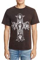 Bravado Guns N' Roses Cross Crewneck Short Sleeve Tee
