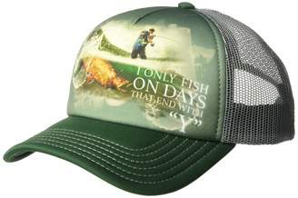 The Mountain Men's Fish Every Day Hat