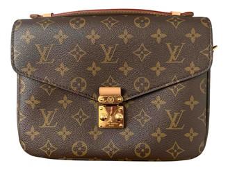 Louis Vuitton Metis Brown Cloth Handbags