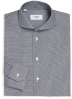 Eton Slim-Fit Micro Patterned Shirt