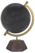 Threshold Decorative Globe with Cement Base - Black