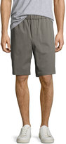 Vince Cotton-Blend Pull-On Twill Shorts