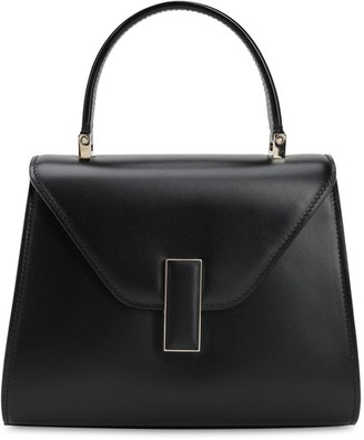 Valextra Mini Iside Suede & Leather Bag