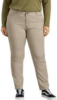Dickies Plus Size Perfect Shape Skinny Twill Pants