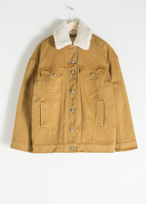 And other stories Organic Cotton Denim Jacket