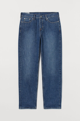 H&M Relaxed Selvedge Jeans