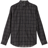 Jigsaw Check Needle Shirt, Grey